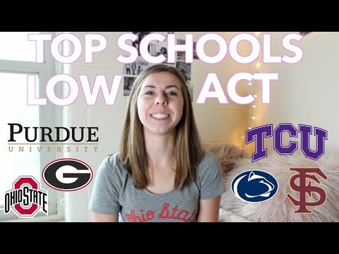Getting into top schools with a low ACT score | How I got into Ohio State