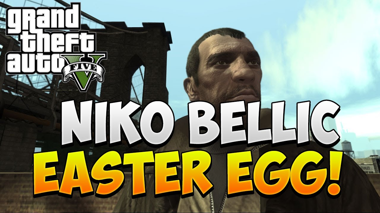 "GTA 5 Online - ""Niko Bellic"" Easter Egg! Nikko Bellic ..."