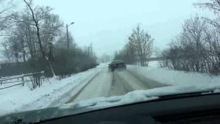 bmw e46 330 ci coupe snow drift part 2