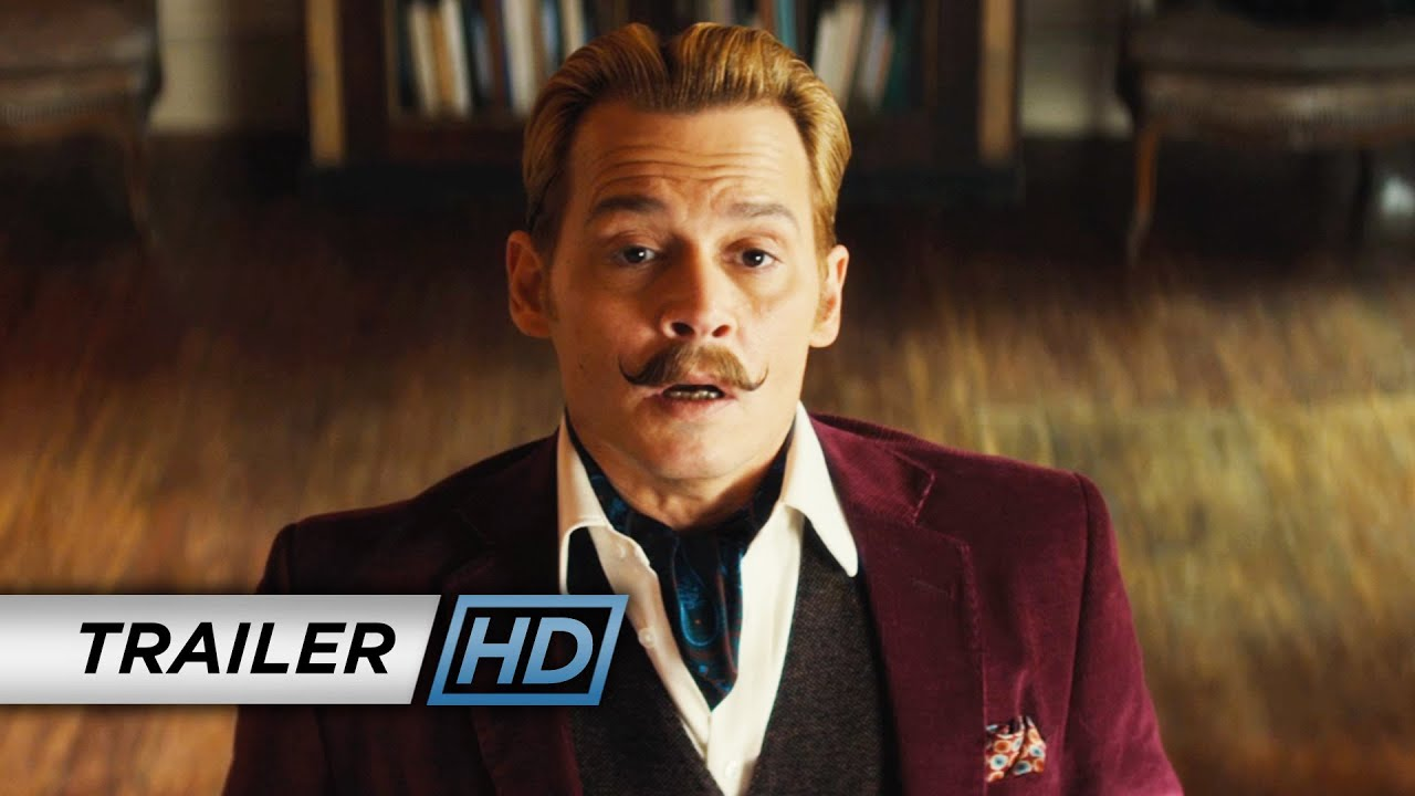 Mortdecai (2015 Movie - Johnny Depp) – Official Final Trailer