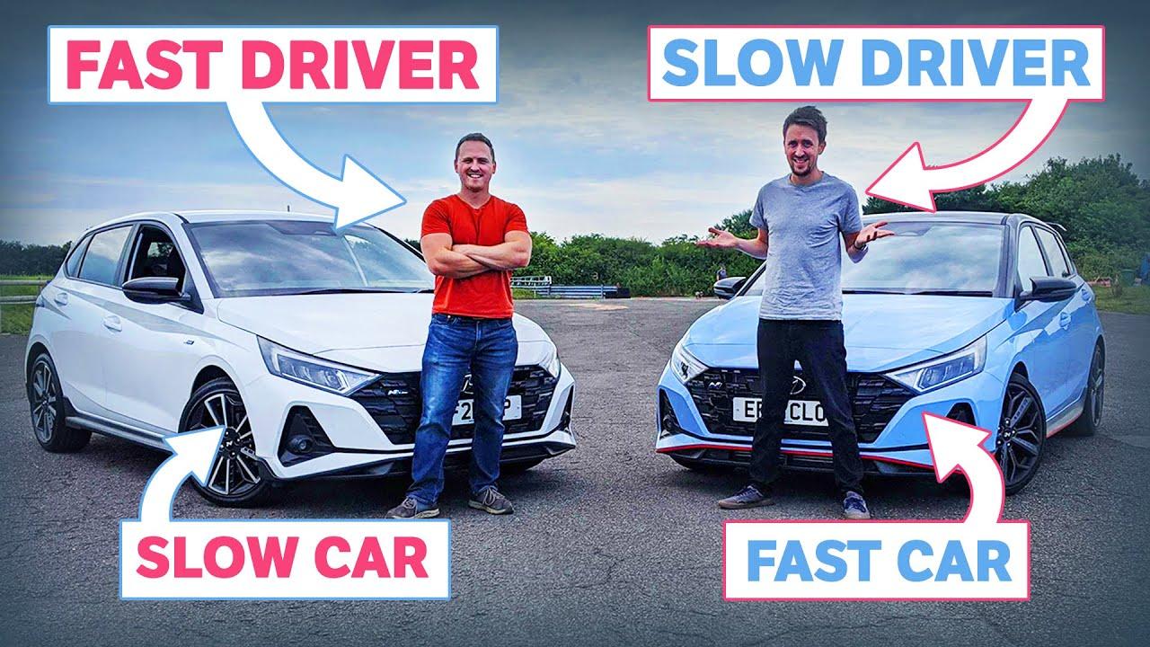 Fast Car, Slow Driver Vs Slow Car, Fast Driver!