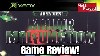 Army Men Major Malfunction Xbox Game Review
