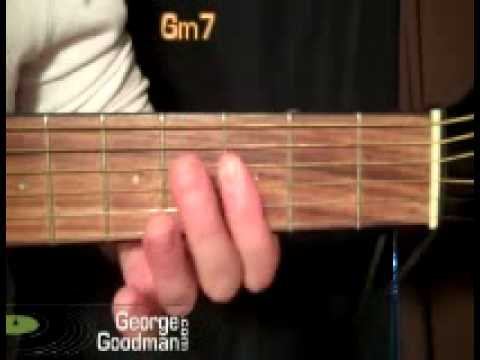 Guitar Chord Gm7 G Minor 7 Youtube