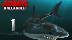 Lets Play Jaws Unleashed [1][HD] - Under the sea