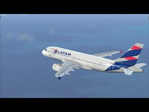 FSX - VOO DE BELEM PARA SANTAREM - AIRBUS A319 LATAM (PROJECT AIRBUS) (BEL-STM)