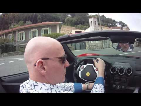 Eden's F430 Spyder Driving Experience on the Cote d'Azur