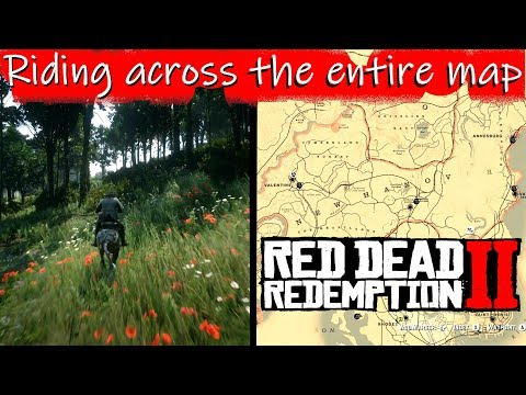 Red Dead 2' Map Size Vs  'GTA 5' Comparison Reveals Sheer