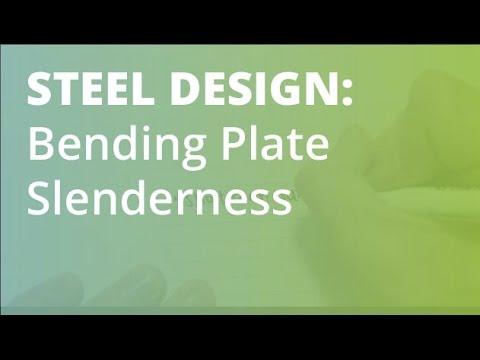 Plate Slenderness in Bending: Steel Structural Design