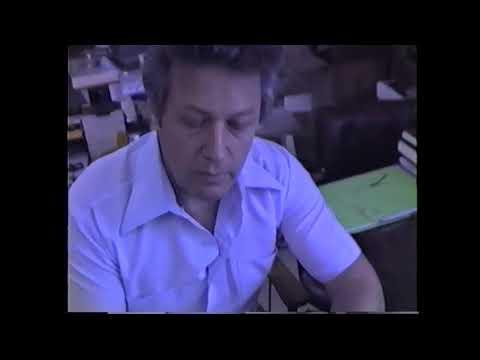 Joseph Newman Visit 1987