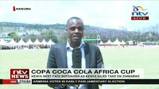 Kenya team thrash Ethiopia 11-1 in the Copa Coca-Cola Africa Cup