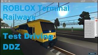 ROBLOX Terminal Railways Test Conduite DDZ