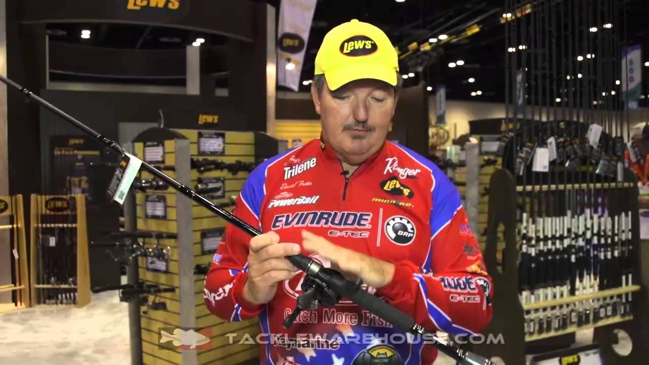 Lew's David Fritts Palmer and Perfect Cranking Rods with David Fritts |  ICAST 2014