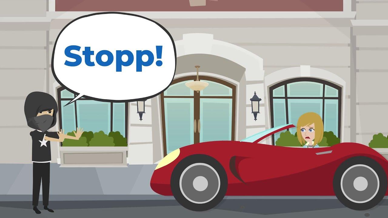 Deutsch lernen | Stopp! Gib mir dein Auto