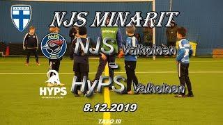 NJS Minarit P11 NJS Valkoinen vs HyPS Valkoinen 8.12.2019