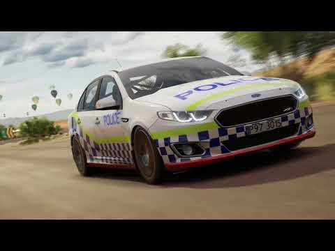 Forza Horizon 3 Tasmania Victoria Western Australia police designs