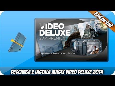 Descargar e Instalar Magix Video Deluxe 2014 Premiun (32/64bits)