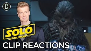 Chewbacca (Joonas Suotamo) Reacts to Chewie Playing Holochess Scene