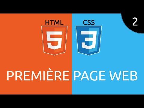 HTML/CSS #2 - Première Page Web