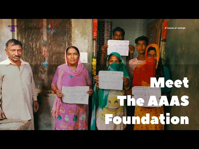 Voices of Change #4 -  Aaas Foundation | Volunteer For India | 360 Degree | Learnsville