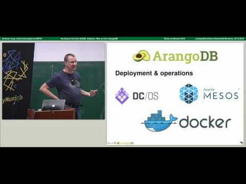 Andreas Jung – The hunt for the right NoSQL database. Why we love ArangoDB