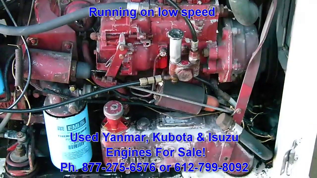 Used Isuzu C201 Diesel Engine For Sale  Ph  612-799-8092  Wgs1955 01:07 HD
