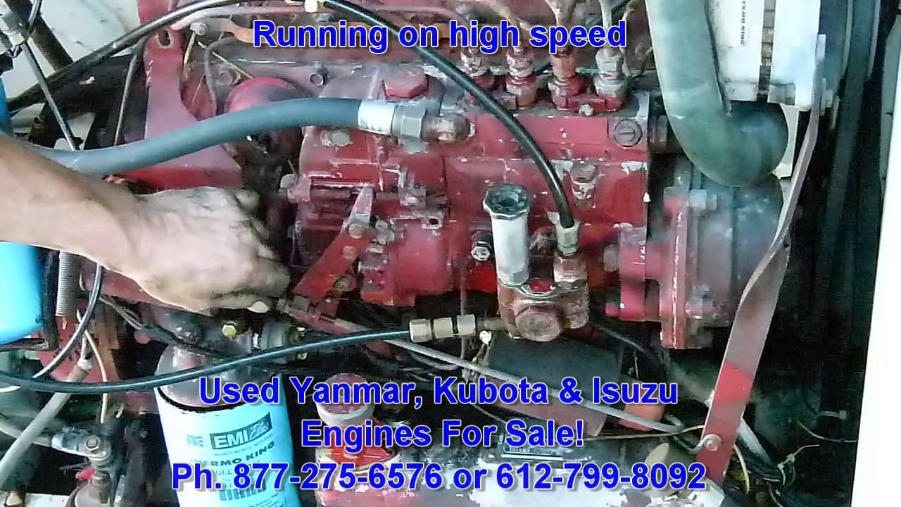 Used Isuzu C201 diesel engine for sale  Ph  612-799-8092