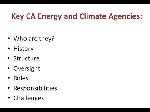California And Western Energy Introduction | Dian Grueneich | Energy Lecture Series