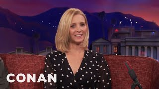 Lisa Kudrow Belongs Above Sea Level  - CONAN on TBS