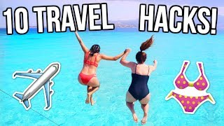 10 Travel & Packing Hacks You NEED to Know! | Summer 2017