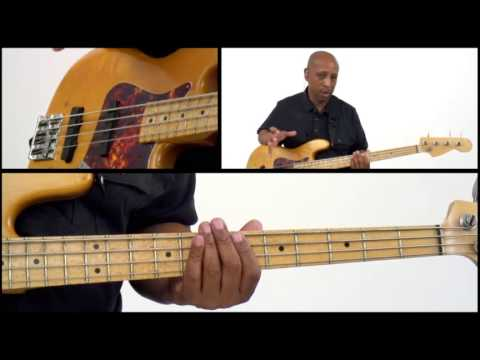 50 R&B Bass Grooves - #42 - Bass Guitar Lesson - Andrew Ford