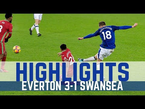HIGHLIGHTS: EVERTON 3-1 SWANSEA - ANOTHER SIGURDSSON STUNNER!