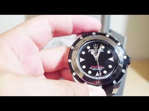 Sea God Balckstorm Automatic Diver - ITA