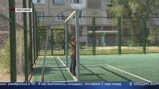 ЧП на спортивной площадке: на ребёнка в Костанае упали футбольные ворота