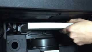 (* Kia Sportage SL *)( Замена салонного фильтра )( How to Cabin Air Filter Replacement