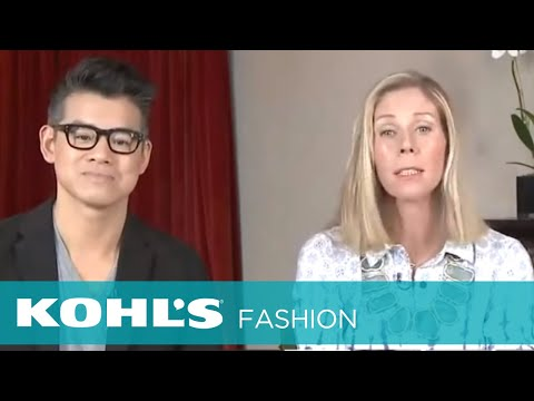 Peter Som Shoppable Hangout - Day to Night Fashion | Kohl's