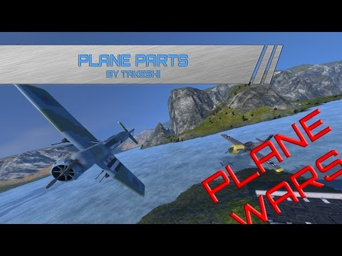 Space Engineers Plane parts/Plane Wars