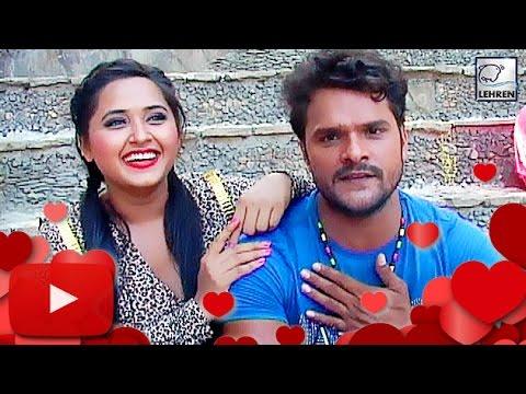 Khesari Lal Yadav CONFIRMS His Love Affair With Kajal Raghwani!   Lehren Bhojpuri