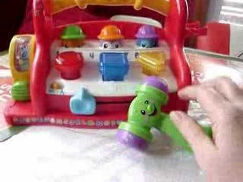 Fisher Price Laugh Amp Learn Learning Toolbench Youtube