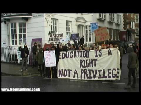 BRIGHTON Protest 2010 (Part 1)