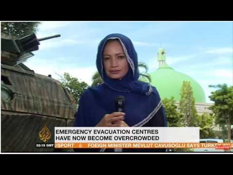 jamela alindogan on aje on ceasefire in marawi philippines at the