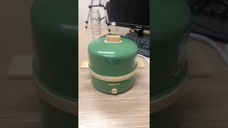 AUX 2단 미니 전기 스팀 달걀 찜기 가정용 자동단전…