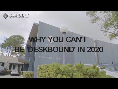 Why you can't be 'deskbound' in 2020