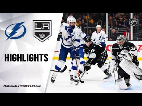 NHL Highlights   Lightning @ Kings 1/29/20