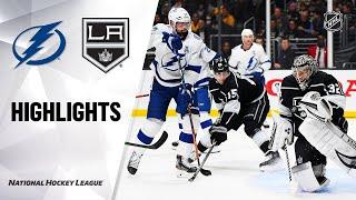 tampa Bay Lightning vs Los Angeles Kings  Jan.29, 2020  Game Highlights  NHL 2019/20  Обзор