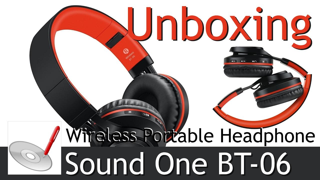Sound One Wireless Bluetooth Headphone Unboxing Hindi Urdu Youtube