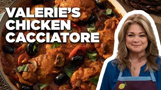 Valerie Bertinelli Makes Her Mom's Chicken Cacciatore Recipe | Food Network