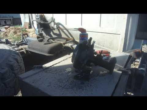 ремонт тормозной системы,главного тормозного цилиндра и усилителя газ 4301