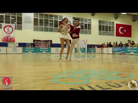 TDSF 2018, Gençler, B Klasman, On2, Final, Show, Furkan Fehmi Karaca, Rümeysa Gökçe, Tres Sanat ve S