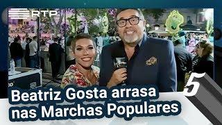 Baixar Beatriz Gosta arrasa nas Marchas Populares | 5 Para a Meia-Noite | RTP
