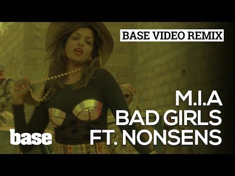 BVE 2014 | M.I.A - Bad Girls (Nonsens Video Remix) - Basemag.nl